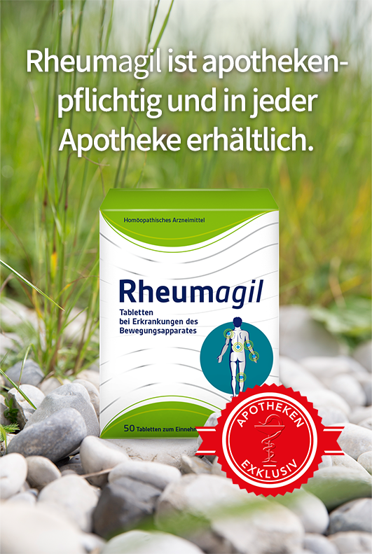 Rheumagil ist apothekenpflichtig