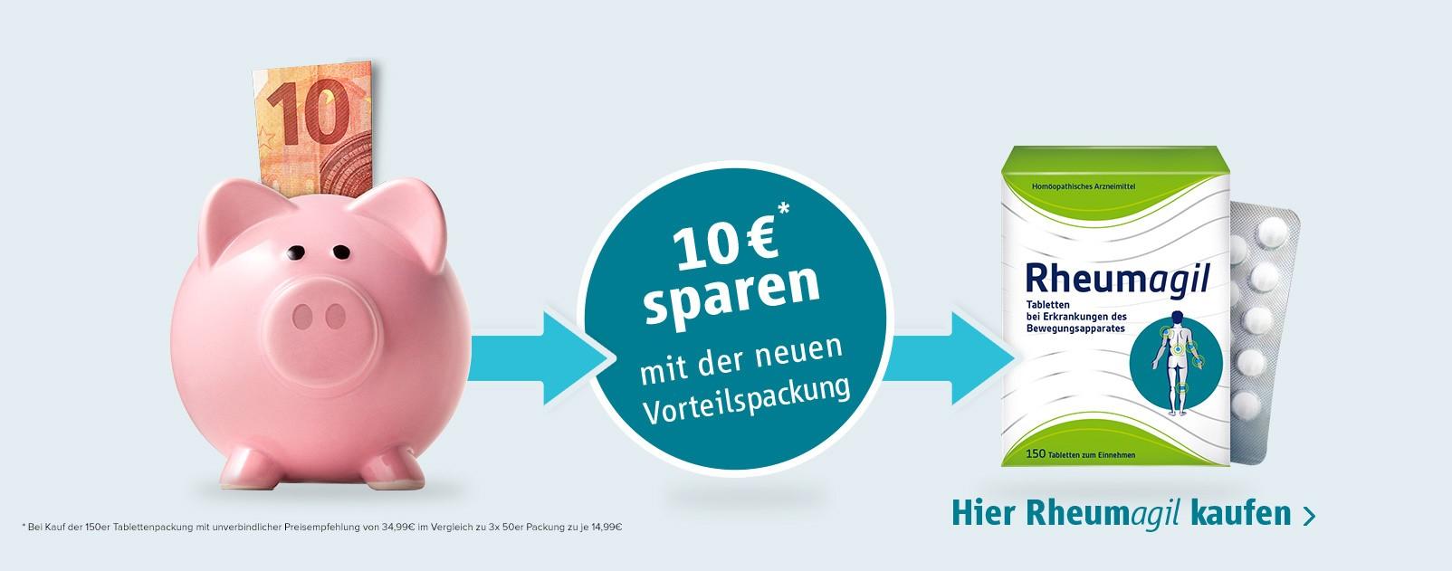 Rheumagil - 10 € sparen