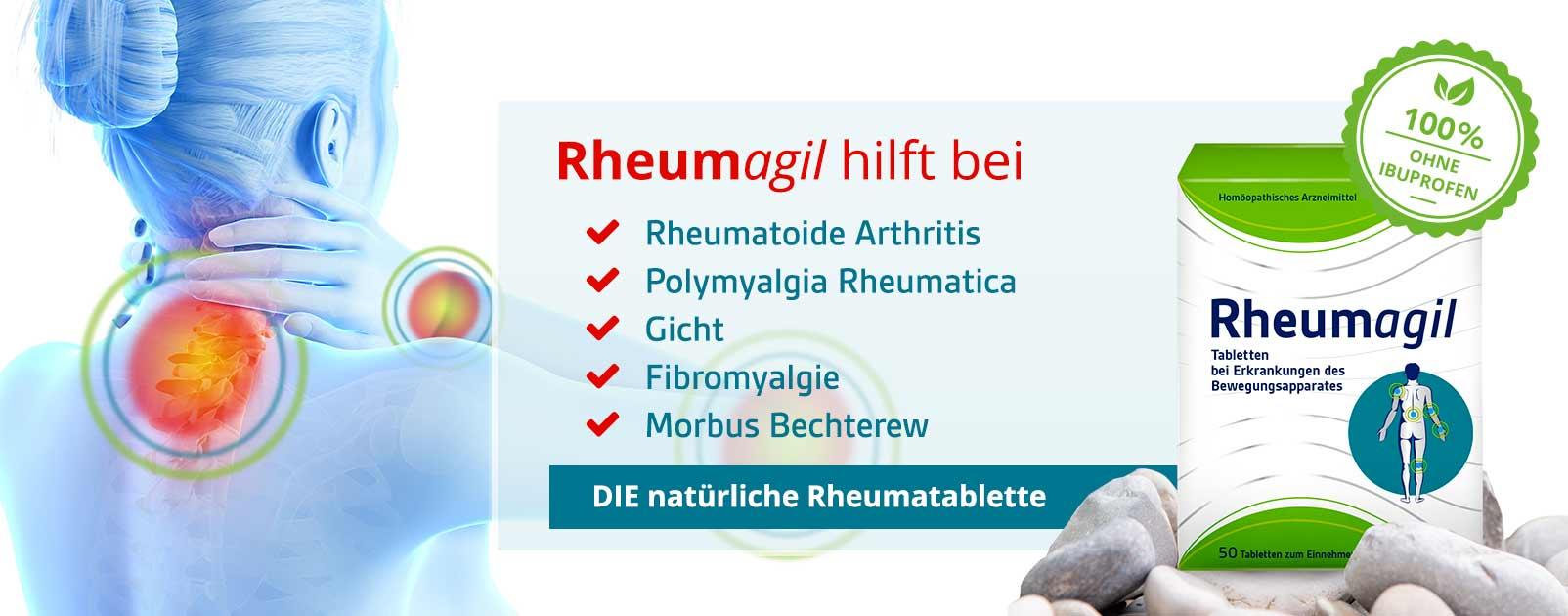 Rheumagil Schmerztabletten ohne Ibuprofen